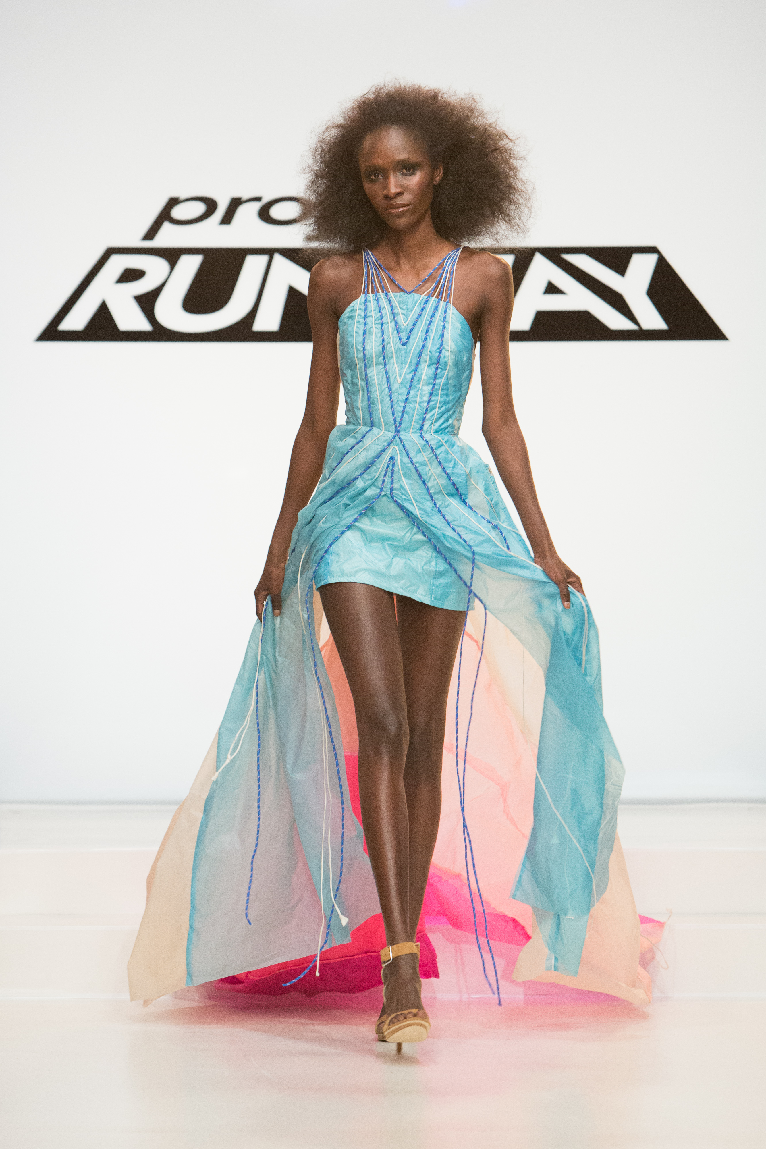 New Wrinkle in the Competition as Project Runway Designers Use ...