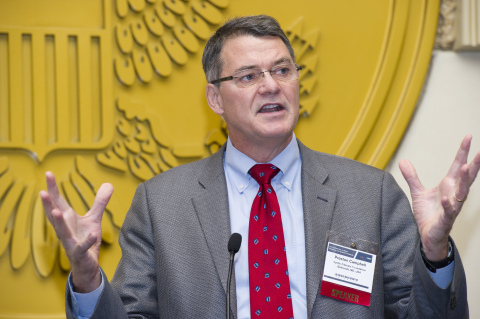 Cystic Fibrosis Foundation Medical Director Preston Campbell, MD, at 2012 U.S. Conference on Rare Diseases and Orphan Products (Photo: Business Wire)