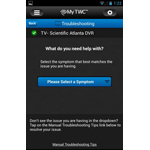 With enhancements to the My TWC App, customers now can troubleshoot their Time Warner Cable equipment. (Photo: Business Wire)