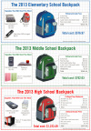 "Huntington Bank's 2013 Huntington Backpack Index details the often overlooked costs represented by classroom supply lists, extracurricular activity equipment and school fees. The increasingly popular trend of ""BYOD"" - Bring Your Own Device - adds hundreds of dollars per child for tablet computer purchases. (Graphic: Business Wire)"