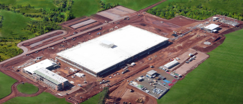 DAF truck factory under construction in Ponta Grossa, Brasil. (Photo: Business Wire)