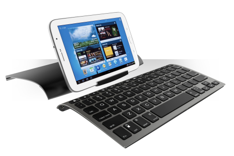 The ZAGGkeys Universal is a remarkably thin full size keyboard compatible with virtually any mobile  ...