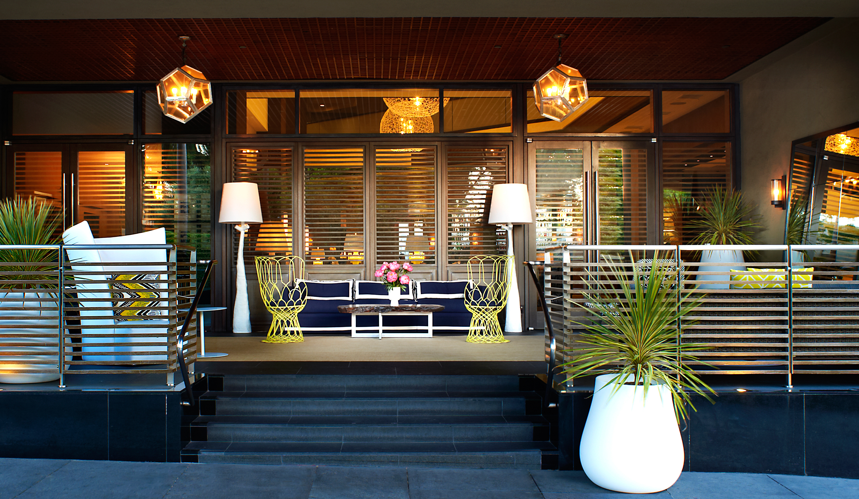Delfina Santa Monica Entrance (Photo: Pebblebrook Hotel Trust)