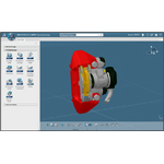 New 3DEXPERIENCE platform interface with CATIA (Photo: Business Wire)