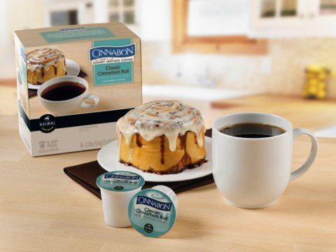 Green Mountain Coffee Roasters, Inc. and Cinnabon, Inc., announce the companies have reached a multi ...