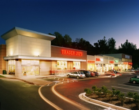 Shoppes of Burnt Mills in Silver Spring, Maryland, recently purchased by Regency Centers. (Photo: Bu ...