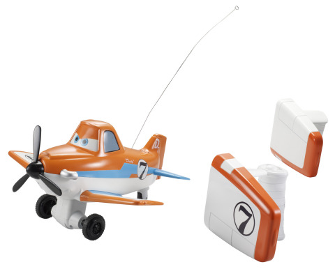 Wing Control Dusty Crophopper Radio Control Plane by Mattel (Photo: Business Wire)