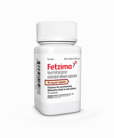 FETZIMA 40 mg bottle (Photo: Business Wire)