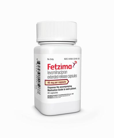 FETZIMA 40 mg bottle (Photo: Business Wire)