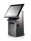 HS All-In-One Terminal With Receipt Printer Footprint (Photo: Business Wire)