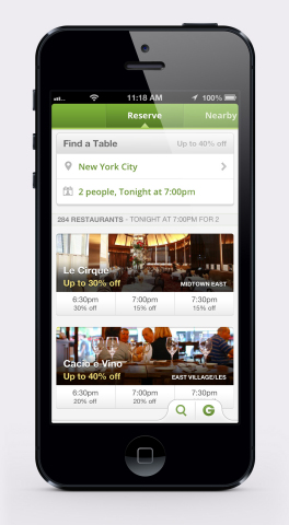 Groupon's latest iPhone app update adds the high-end Groupon Reserve channel, providing consumers wi ...
