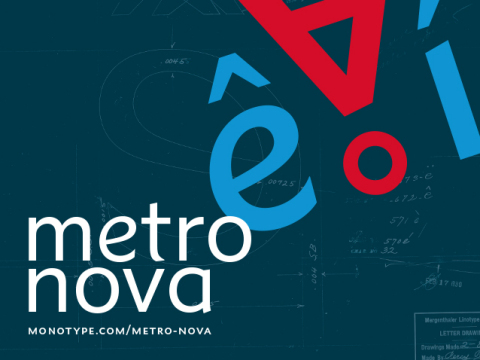 Toshi Omagari's Metro Nova typeface family, newly available from Monotype, is the next-generation version of William Addison Dwiggins' classic Metro design. (Graphic: Business Wire)