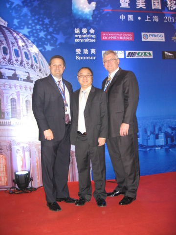 Marc Vorkapich, CEO of Watercrest Senior Living Group, Brian Su, CEO of Artisan Business Group, and  ...