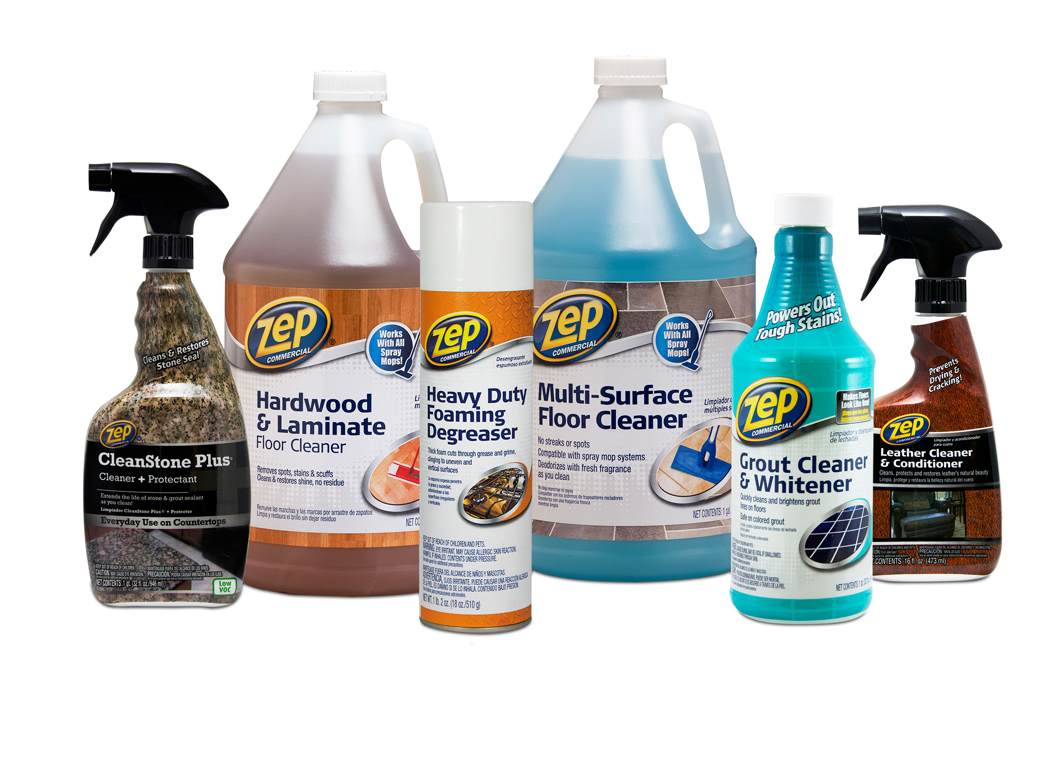 Zep Commercial Cleaners Protectants And Degreasers Now Available Walmart Business Wire