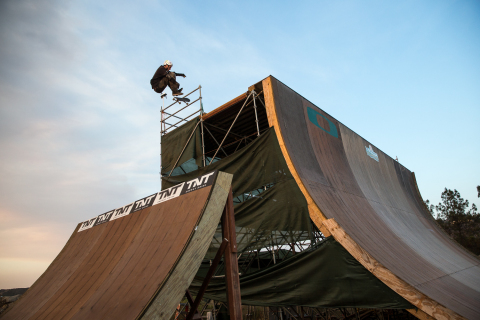 Skateboarding Icon Bob Burnquist Continues to Innovate; 'Dreamland' and the Next Generation MegaRamp Unveiled in New Oakley Web Series (Photo: Business Wire)