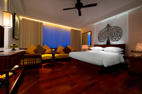 Park Hyatt Siem Reap, Guestroom (Photo: Business Wire)