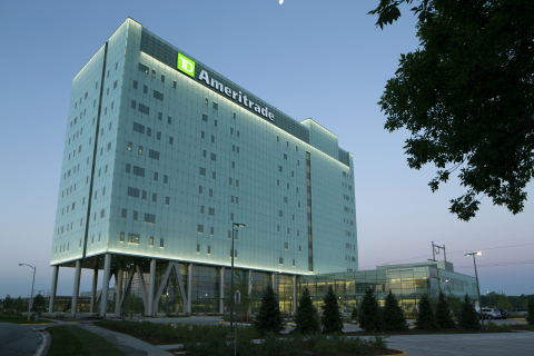 TD Ameritrade's new corporate headquarters in Omaha, Neb. Photo by Bob Ervin, www.ervinphoto.com.