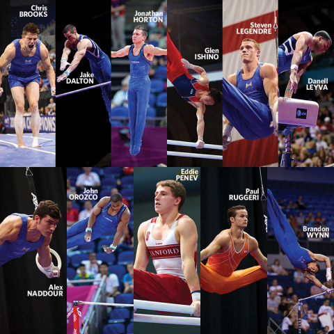 USA Gymnastics has announced the 11 men who comprise the 2013 Team Hilton HHonors squad. Team Hilton HHonors provides direct funding to some of the USA's top male gymnasts to help offset expenses while they pursue their Olympic dreams. (Photo: USA Gymnastics)