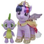 Arriving August 2, PRINCESS TWILIGHT SPARKLE ($25) and her trusted assistant SPIKE THE DRAGON ($10) will be available at Build-A-Bear Workshop stores throughout North America and online at buildabear.com. (Photo: Business Wire)