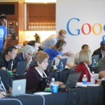 In this photo released by Google, small business owners are learning how to get online at a Get Your Business Online event held earlier this year in Kansas City, Missouri. (Photo: Google, Inc.)