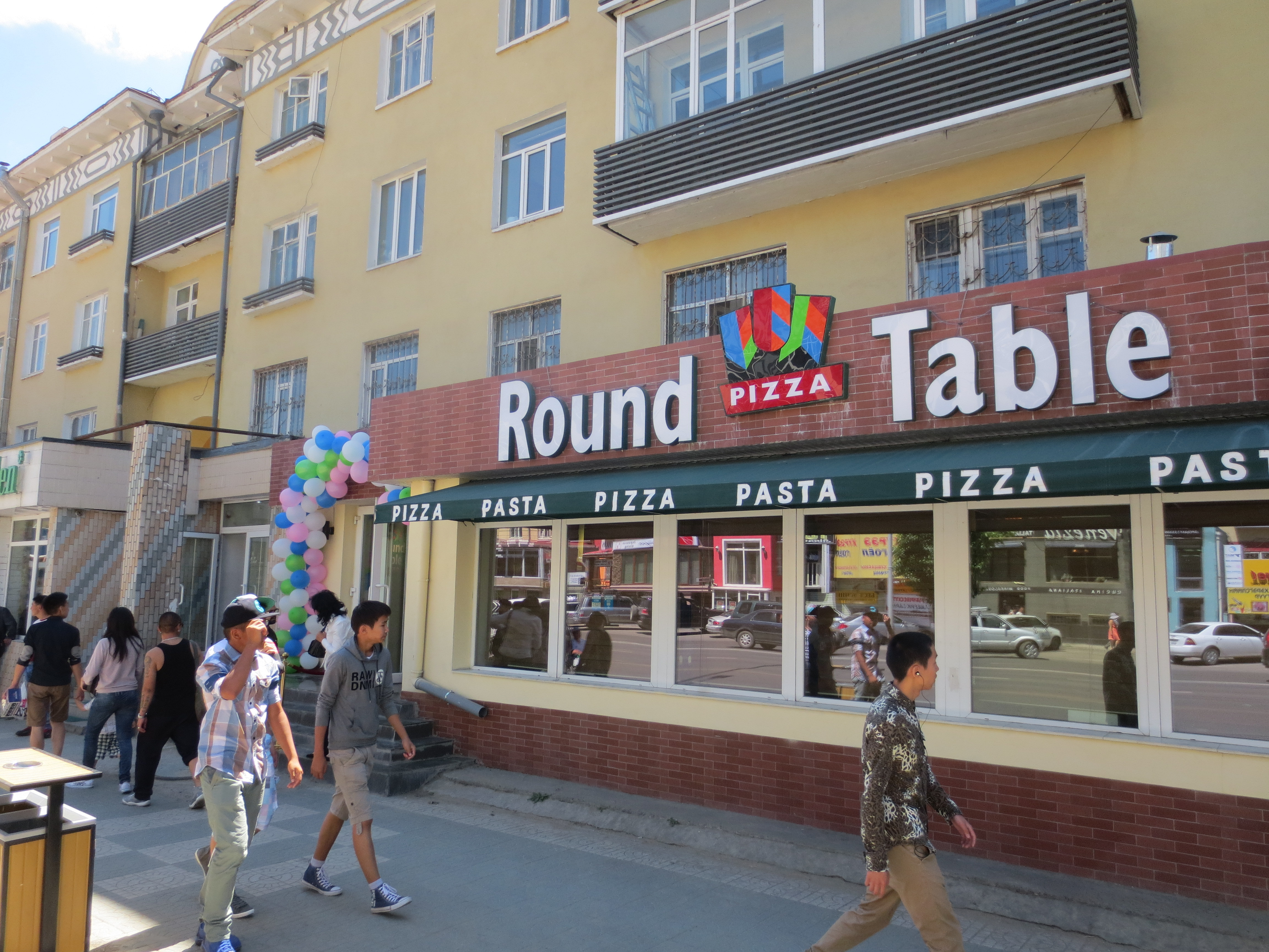 Round Table Pizza Opens Its First Restaurant in Mongolia