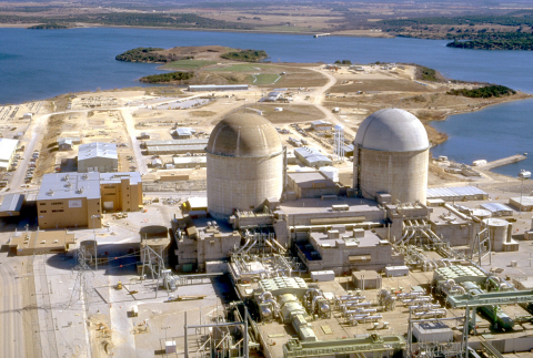 Luminant Comanche Peak Nuclear Power Plant Unit 2 will celebrate 20 years of commercial operations on Saturday, Aug. 3, 2013. (Photo: Business Wire)