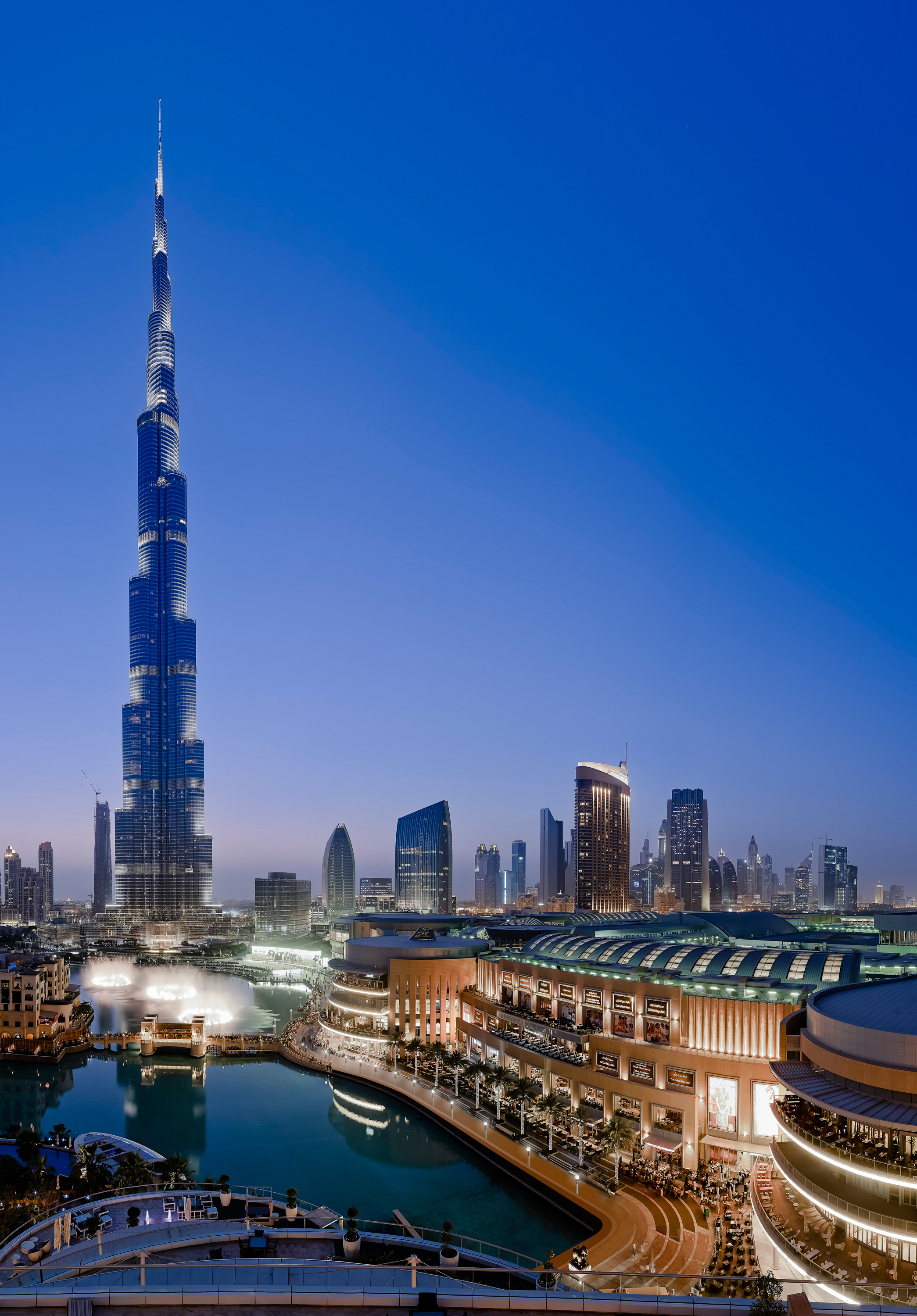 Dubai enjoys busiest first half year ever attracting 5 5 for Small luxury hotels dubai