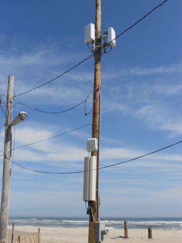 TE Wireless DAS Node on Fire Island (Photo: TE Connectivity)