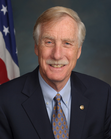 Sen. Angus King (I-ME) (Photo: Business Wire)