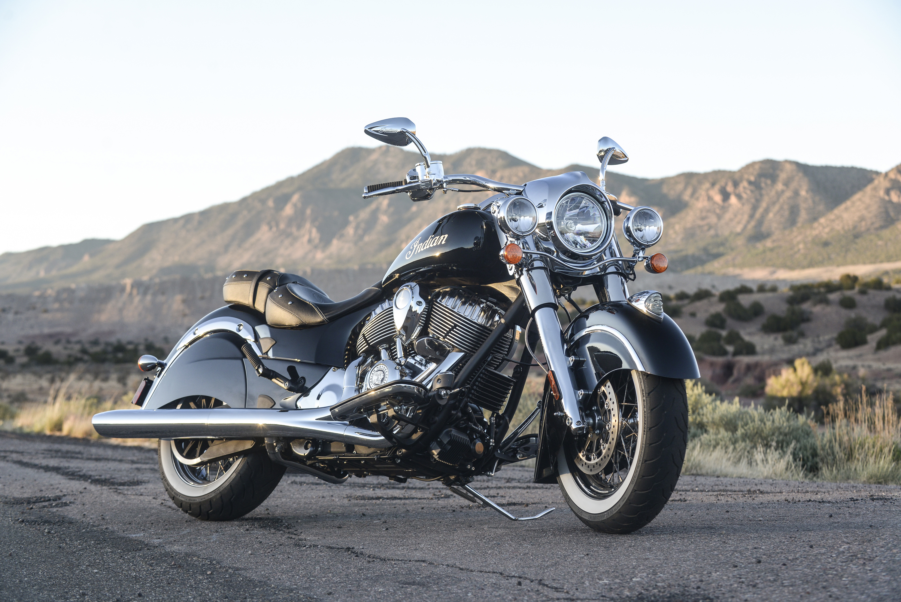 2014 Indian Chief Classic made its historic debut at Sturgis on August 3 (starting at $18,999) (Photo: Indian Motorcycle)