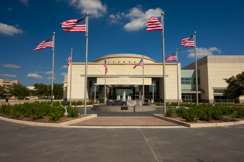 The George W. Bush Presidential Center in Dallas, which is LEED(R) certified at the Platinum level b ...