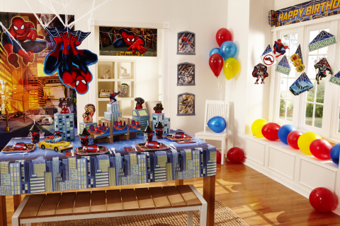 Children will be able to have the birthday parties of their dreams - and parents will come off looking like party planning experts - with new Hallmark Dream Party products featuring favorite Disney, Pixar and Marvel characters. (Photo: Business Wire)