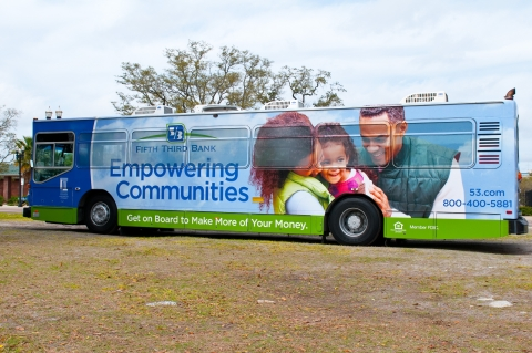 Job search training is now available on Fifth Third Bank's Financial Empowerment Mobiles. (Photo: Bu ...
