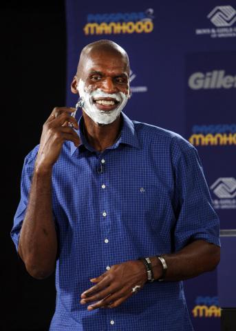Basketball legend and Hall of Famer Robert