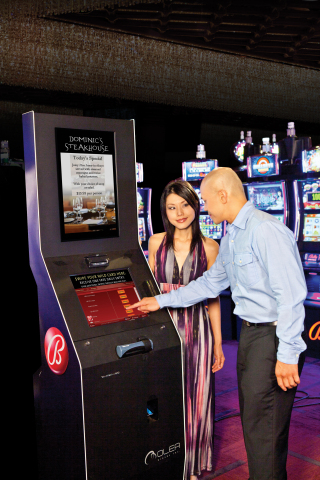 Bally's Promotional Kiosk won an award. (Photo: Business Wire)