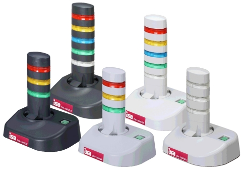 """""""Keiko-4GX"""" - The simple network monitoring device that can alert users with lights, sound and message. Some types of Keiko-4GX are available to accommodate wide variety of customer needs. (Photo: Business Wire)"""