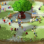 Animal Crossing Plaza Screenshot (Photo: Business Wire)