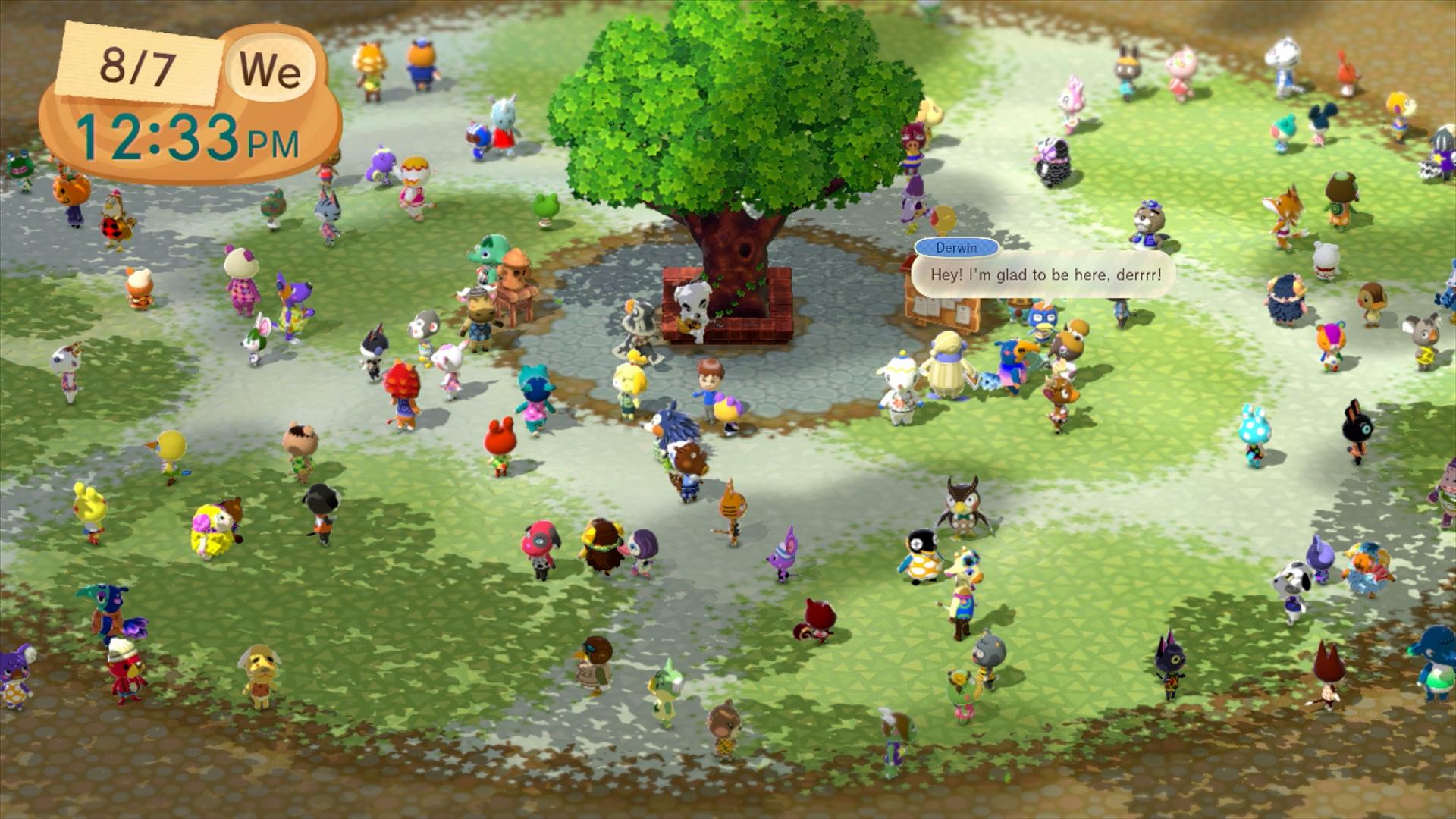 Animal Crossing Plaza Screenshot (Photo: Business Wire)