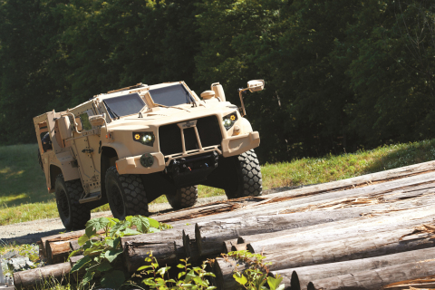 As troops encounter threats such as IEDs or other obstacles, the Oshkosh JLTV solution, named L-ATV, ...