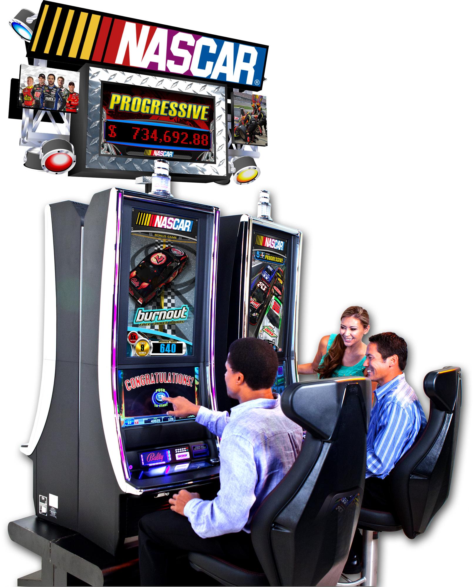 NASCAR Slots - Free Bally NASCAR Slot Machine Review