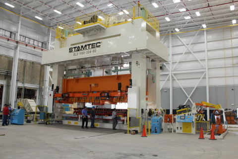 The plant expansion accommodates a new 1,100 ton power press that will enable the plant to increase  ...