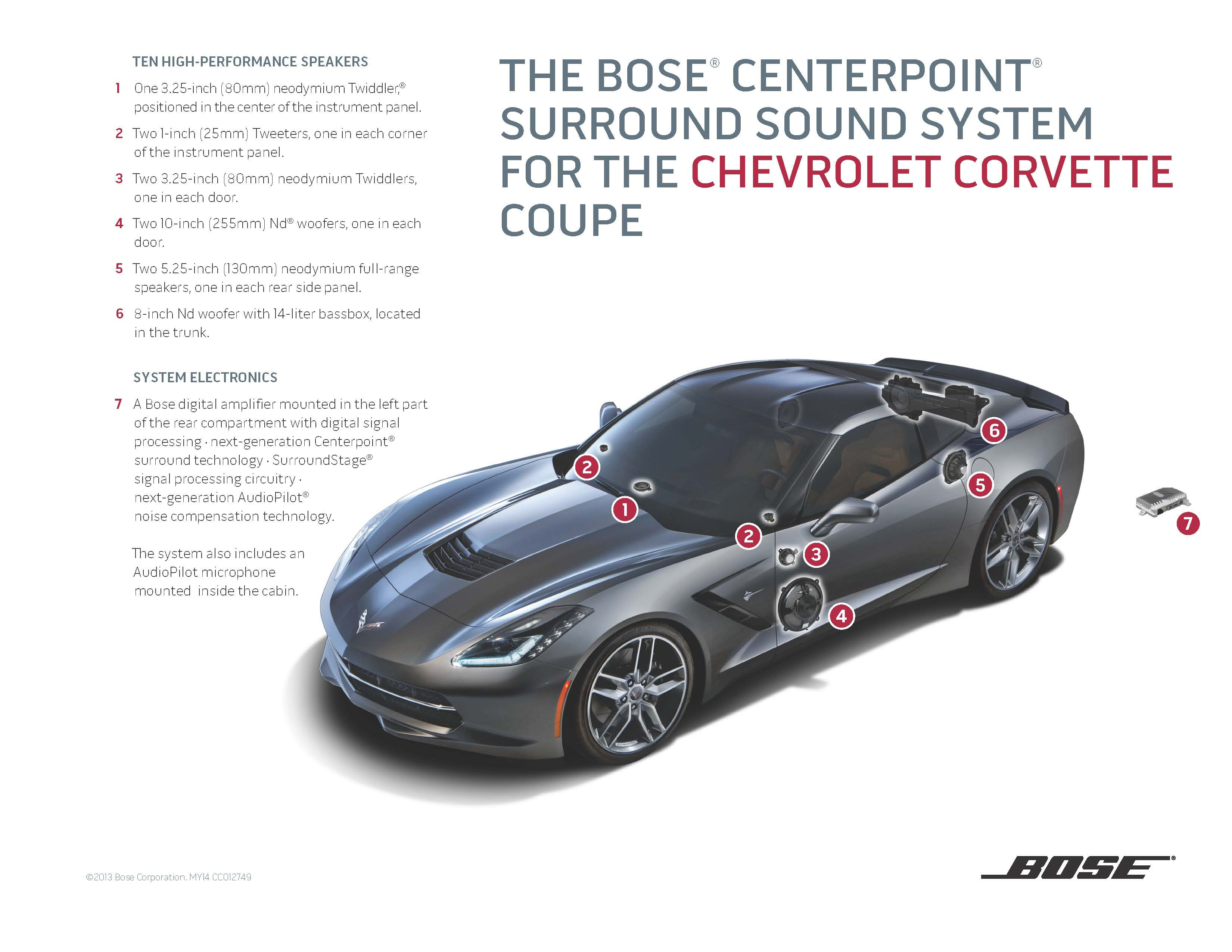 Bose Introduces Two New Sound Systems for the 2014 Chevrolet