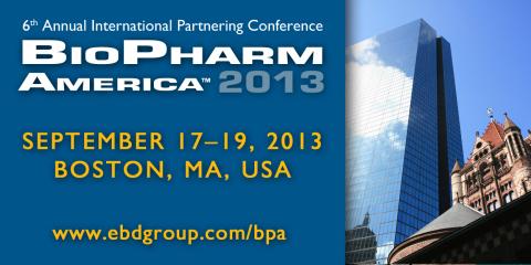 BioPharm America™ 2013 in Boston (Graphic: Business Wire)