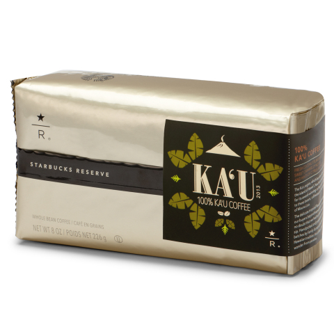 Ka'u from the Big Island of Hawaii is one of the Starbucks Reserve coffees currently available at st ...