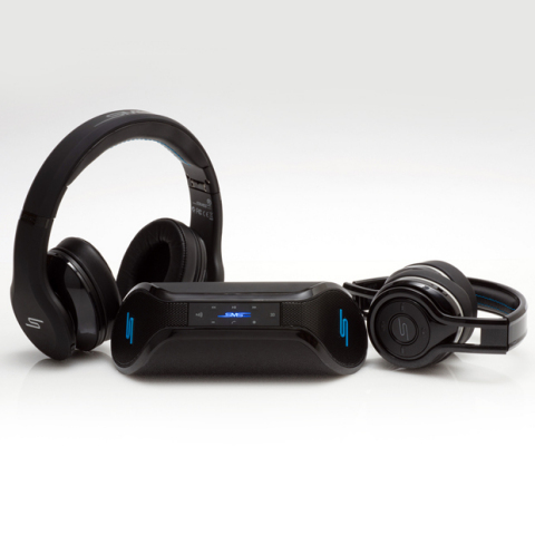 SMS Audio STREET by 50 ANC headphones, SYNC by 50 Wireless Speaker and SYNC by 50 On-Ear headphones  ...
