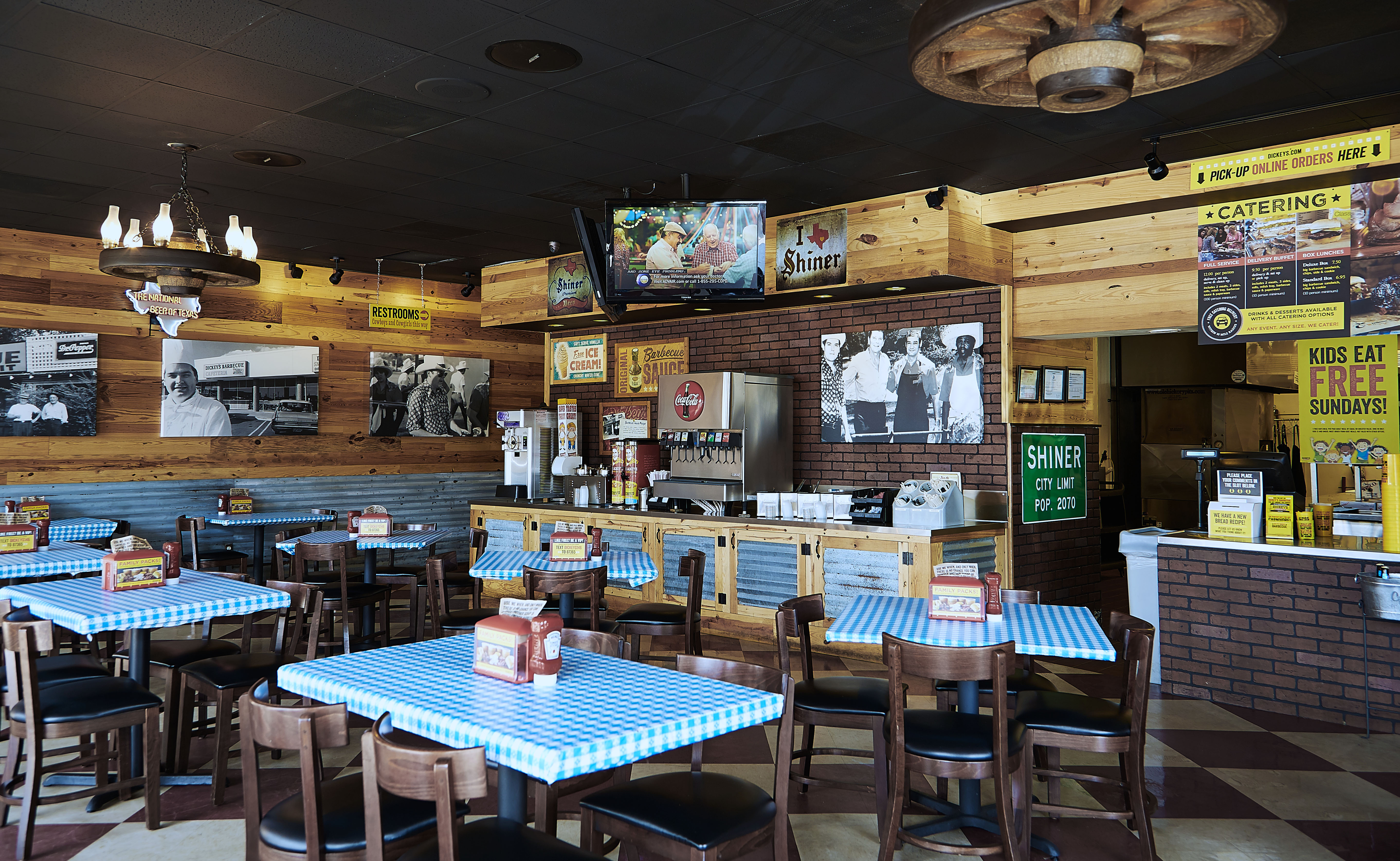 Dickeys Introduces New Menu Boards And Modern Rustic Interior Nationwide
