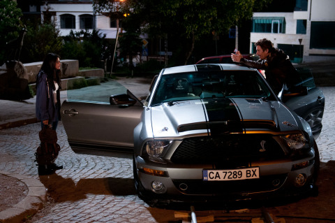 Ethan Hawke, Selena Gomez and the Ford Shelby GT500 Super Snake star in the upcoming action thriller Getaway hitting the big screens Labor Day Weekend. (Photo: Business Wire)