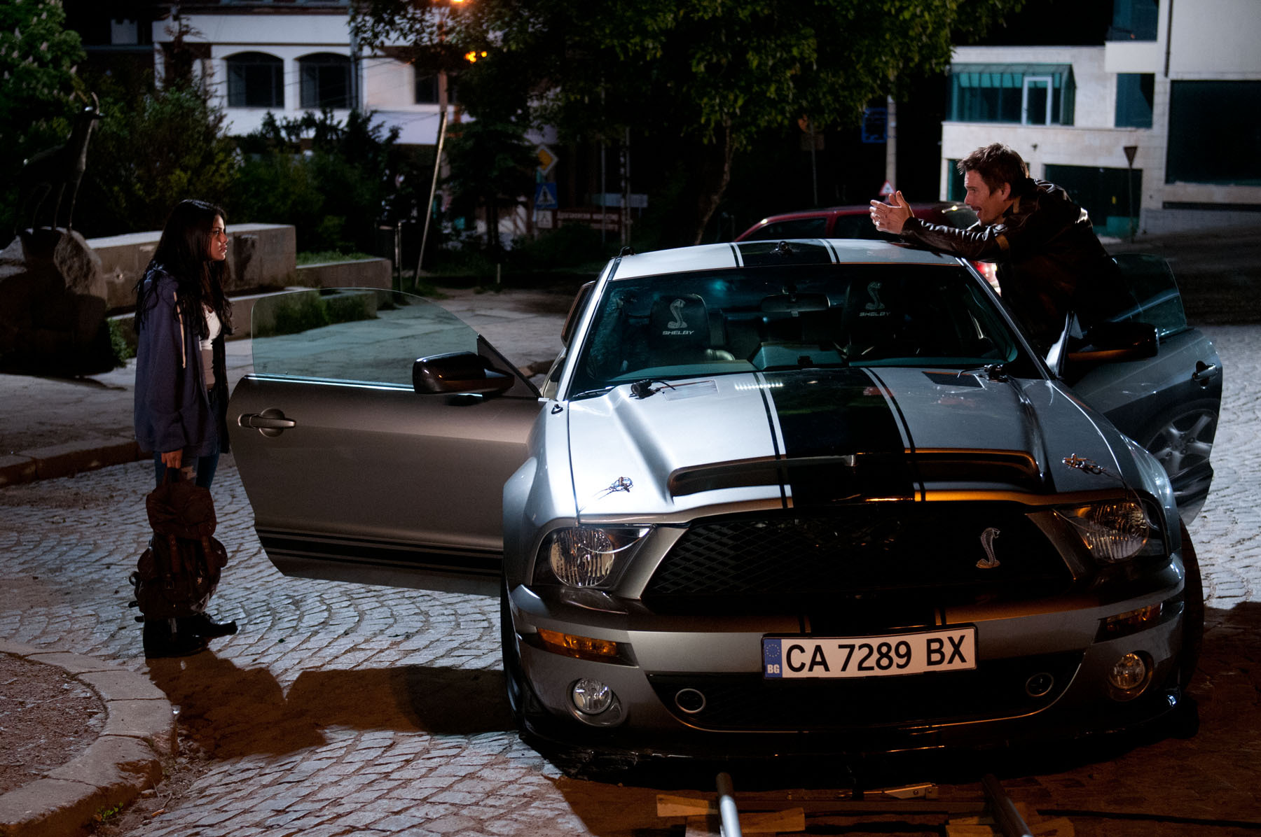 Ford Shelby Gt500 Super Snake Stars With Ethan Hawke And Selena Gt 500 Gomez In Action Thriller Getaway Business Wire
