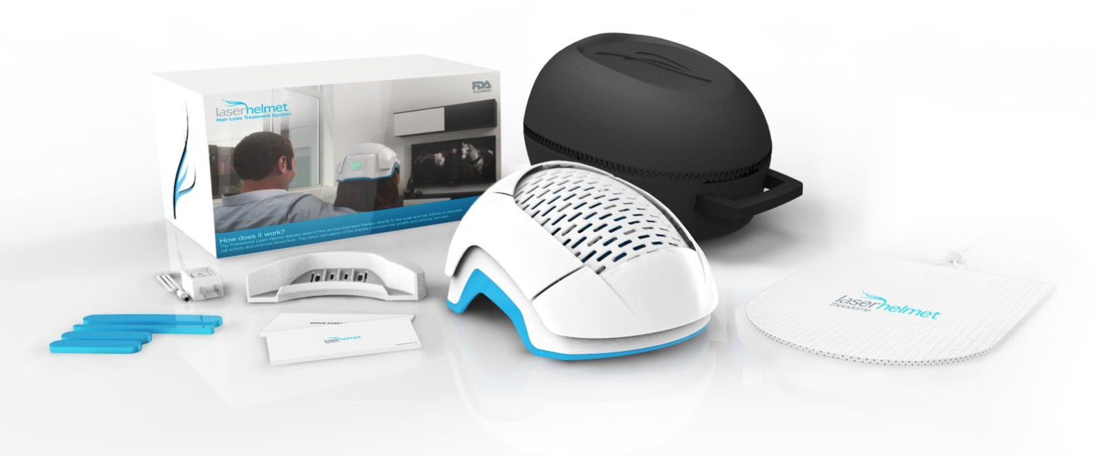 CORRECTING and REPLACING VIDEO Theradome Laser Helmet Reaches Indiegogo  Funding Goal In First 24 Hours | Business Wire