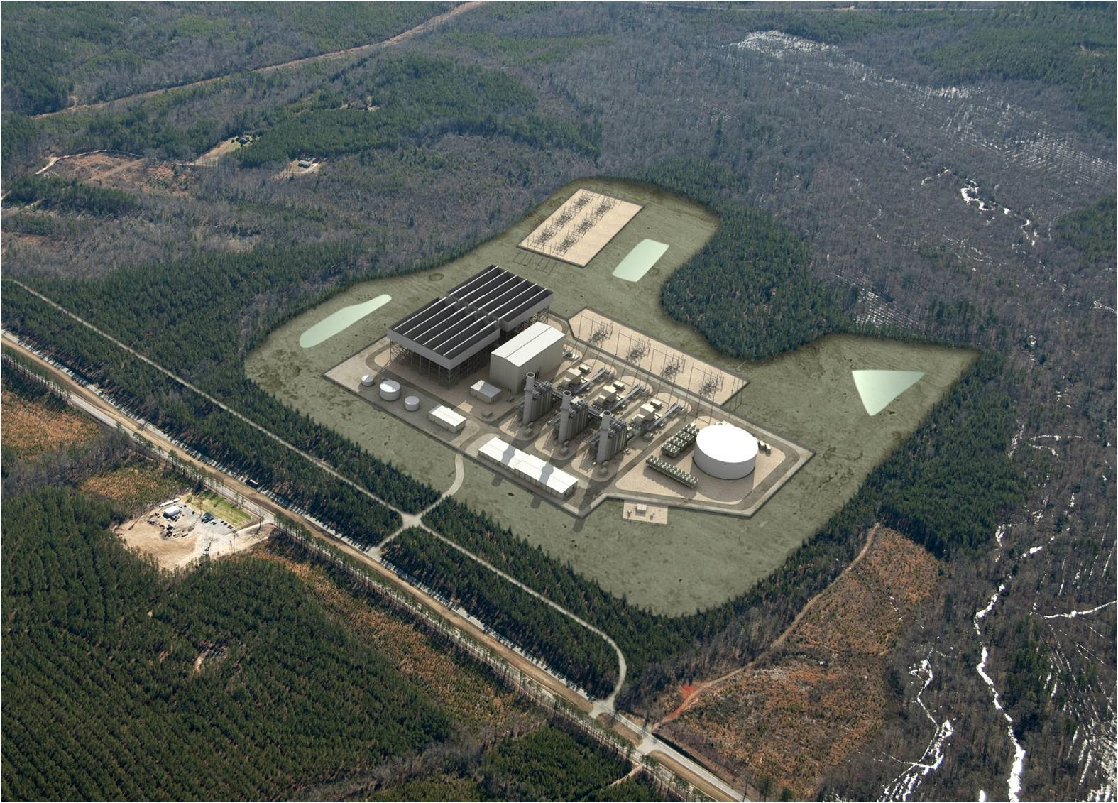 Fluor set to begin construction on dominion s brunswick for Domon power release